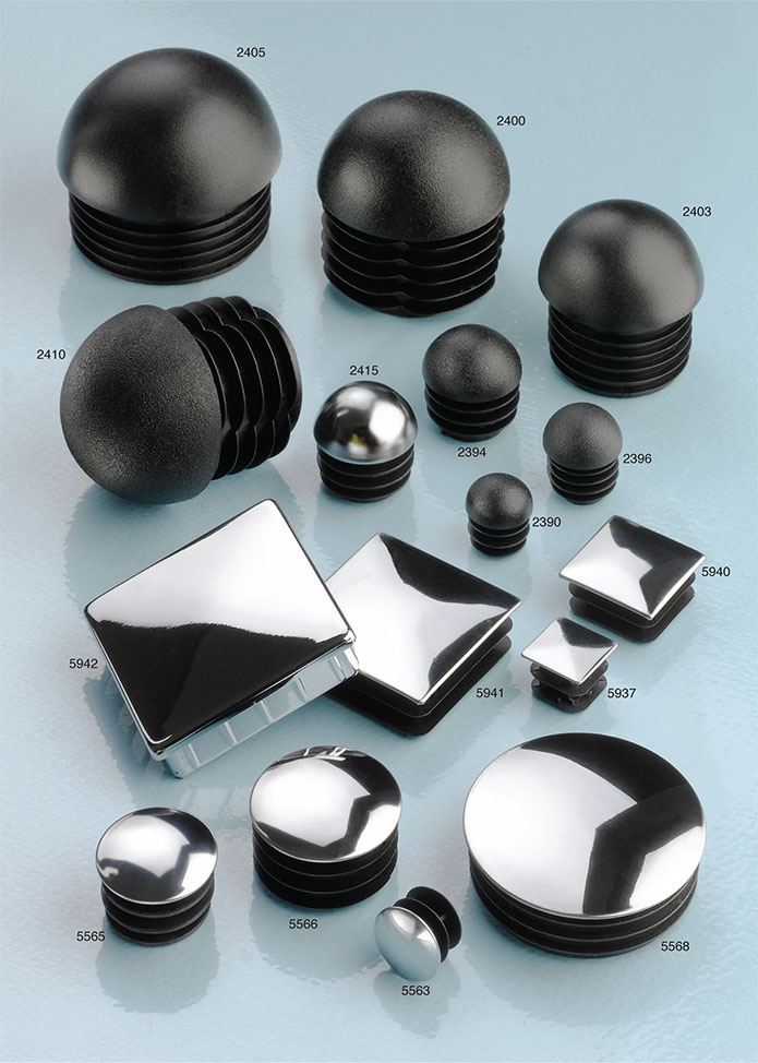 PE Hemi or Chrome Tube Inserts