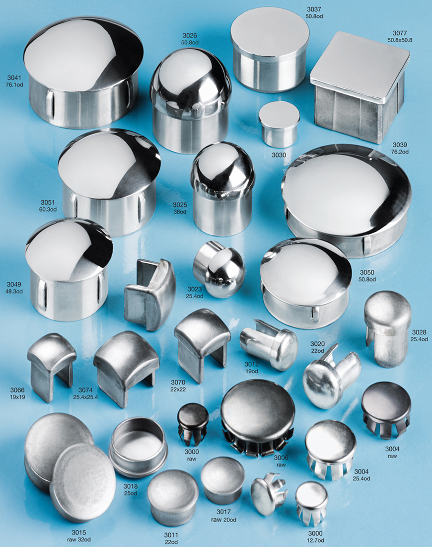 Steel or stainless steel tube inserts
